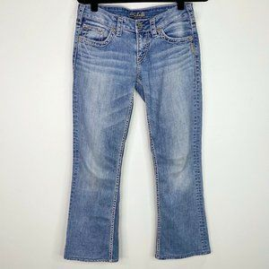 Silver Jeans Aiko Bootcut Light Wash Jeans 28